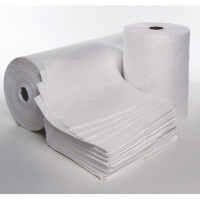Oil-Only White Pads & Rolls