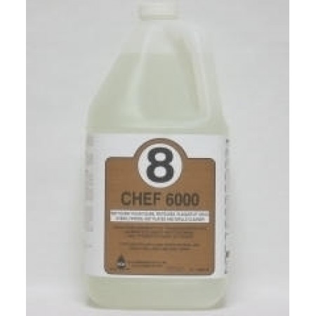 (CHEF-6000) Hot Plate And Fryer Cleaner - 4L