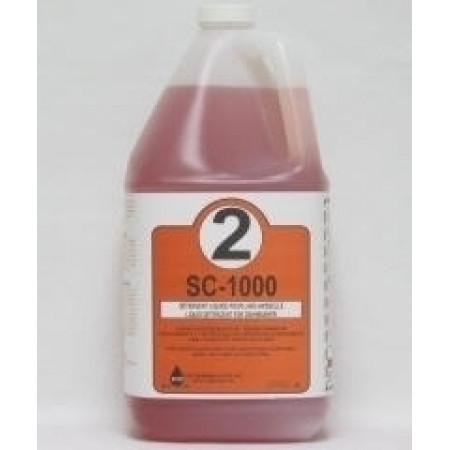 "(SC-1000) ""Red"" All Temp Dish Detergent - 20L"