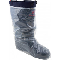 """Clear Polyethylene Boot Covers with Elastic (16"""", XL-XXL)"""