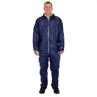 Blue Disposable Coveralls - 3XL