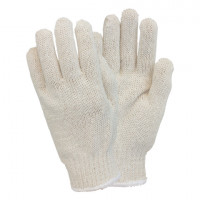 Blended String Knit Gloves - Men's