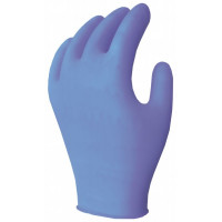 4 Mil - Blue PF Vinyl Gloves (XL)