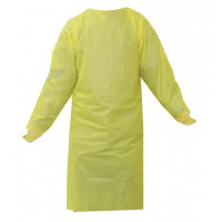 Cast Polyethylene Gown - Yellow (1.2mil)